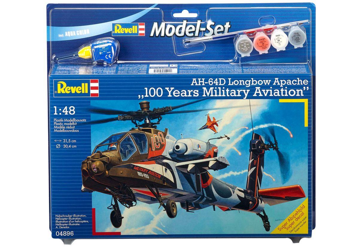 Revell® Modellbausatz Hubschrauber »AH-64D Apac...