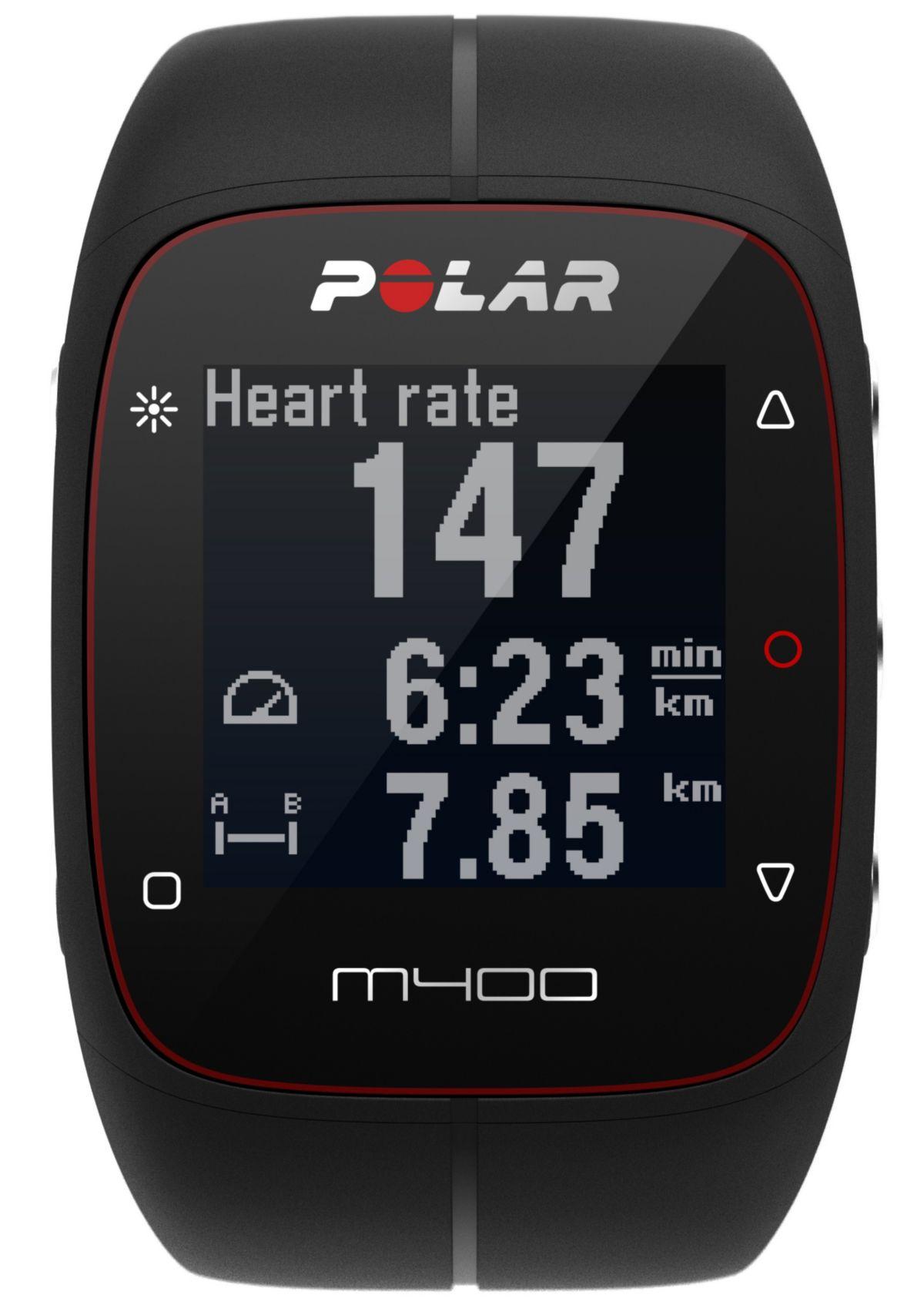 Polar GPS Sportuhr, »M400 HR«, inkl. Brustgurt