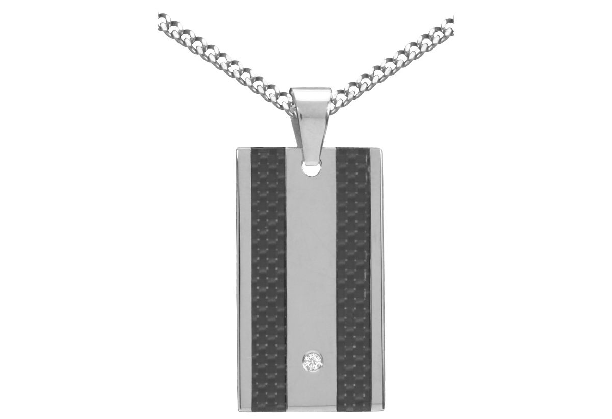 firetti Halsschmuck: Halskette in Panzerketteng...