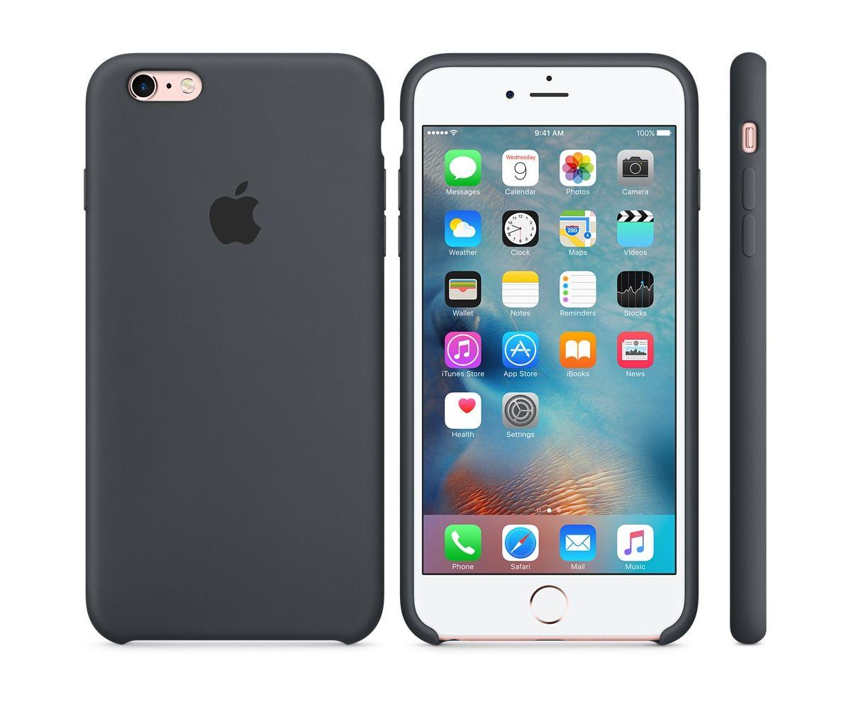 Case 6s Apple »iphone Plus Grau« Silikon CoWrxdBe