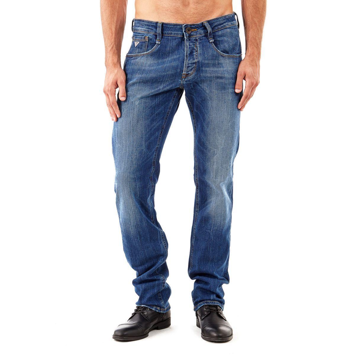 Guess jeans slim preise vergleichen und g nstig for Niedriger schuhschrank