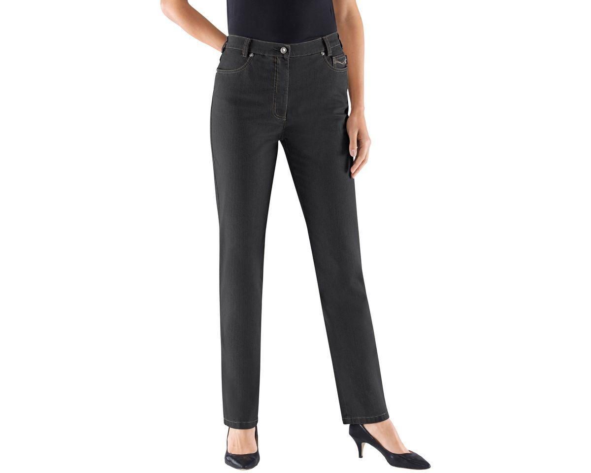Leiss Jeans mit formgebendem Sattel