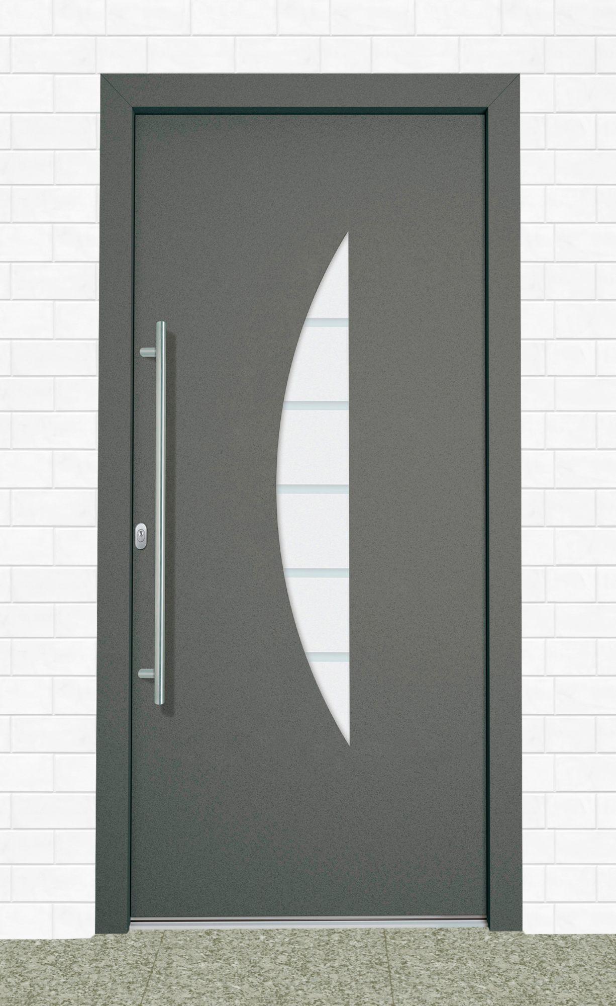 aluminium haust r malta t r nach ma anthrazit schwab versand haust ren. Black Bedroom Furniture Sets. Home Design Ideas