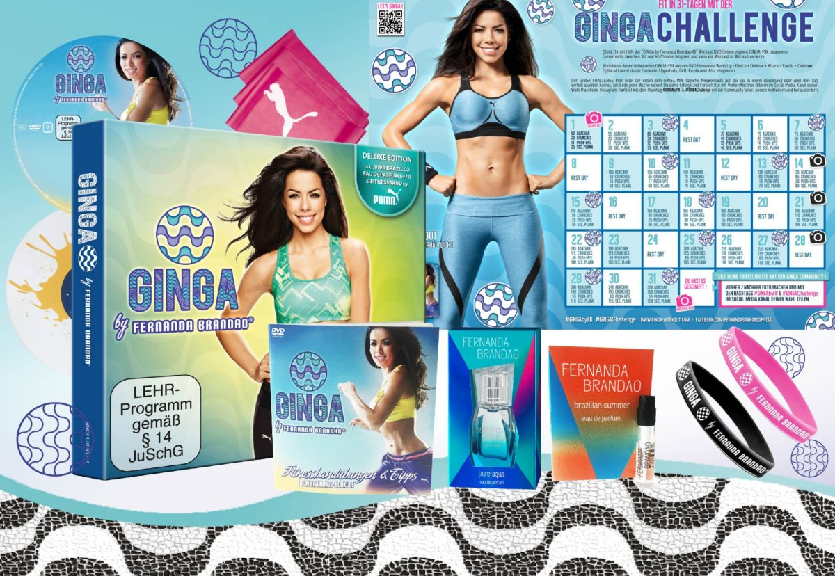 Sparset: Ginga Lifestyle Package, Fitness-Worko...