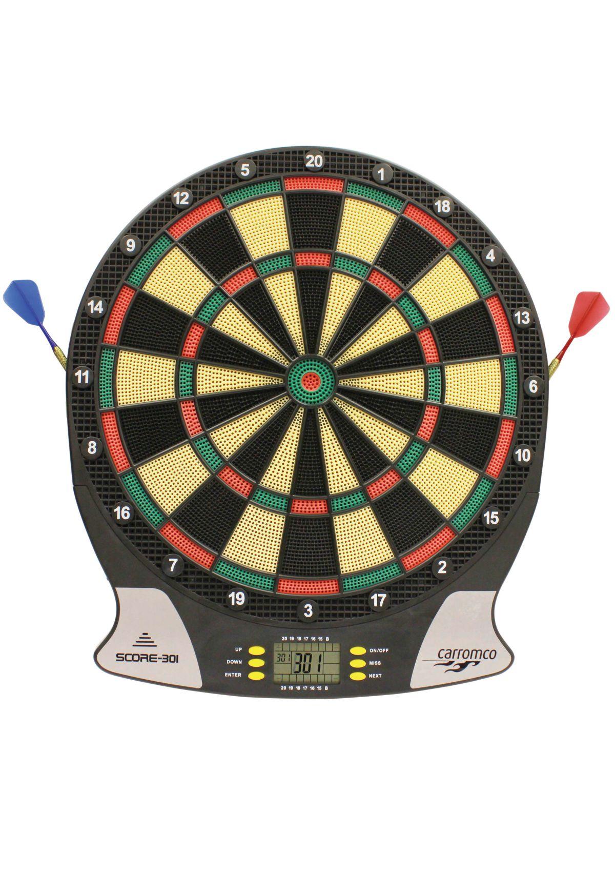 Carromco Elektronische Dartscheibe, »Elektronik Dartboard Score-301«
