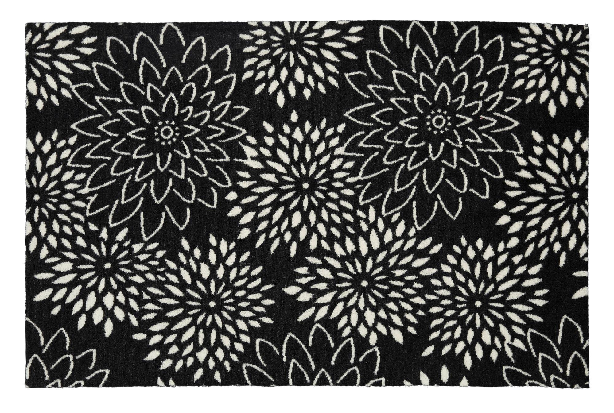 schmutzfangmatte flower1 big flower schwab versand waschbare teppiche. Black Bedroom Furniture Sets. Home Design Ideas