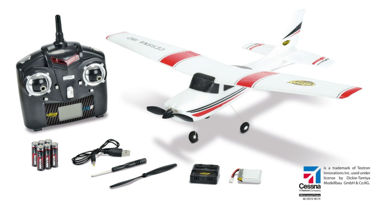 Carson RC-Komplett-Set Flugzeug, »Cessna Micro ...