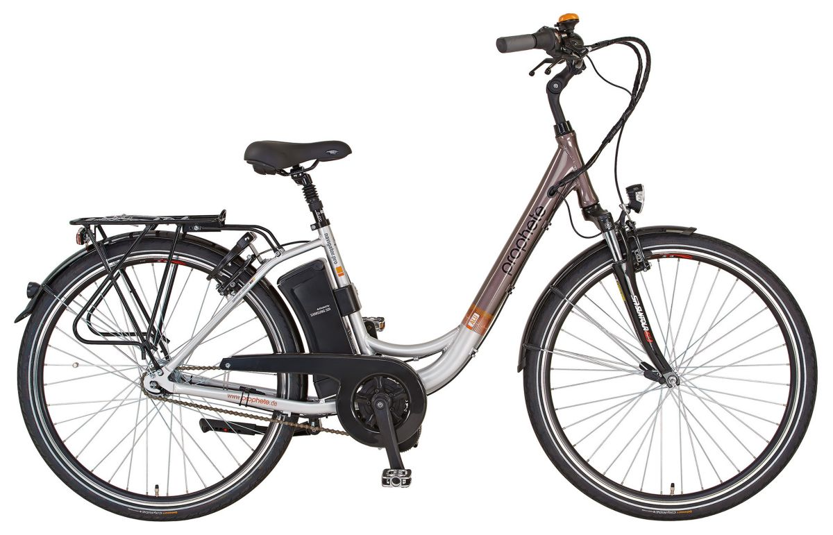 Prophete E-Bike City, 28 Zoll, 7 Gang Shimano N...