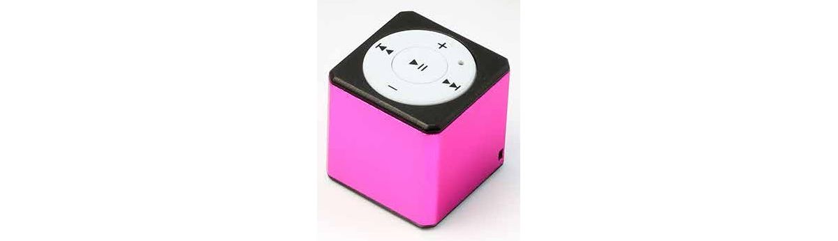 Vorschaubild von Technaxx MP3-Player »MusicMan Mini Style MP3 Player TX-52 pink«