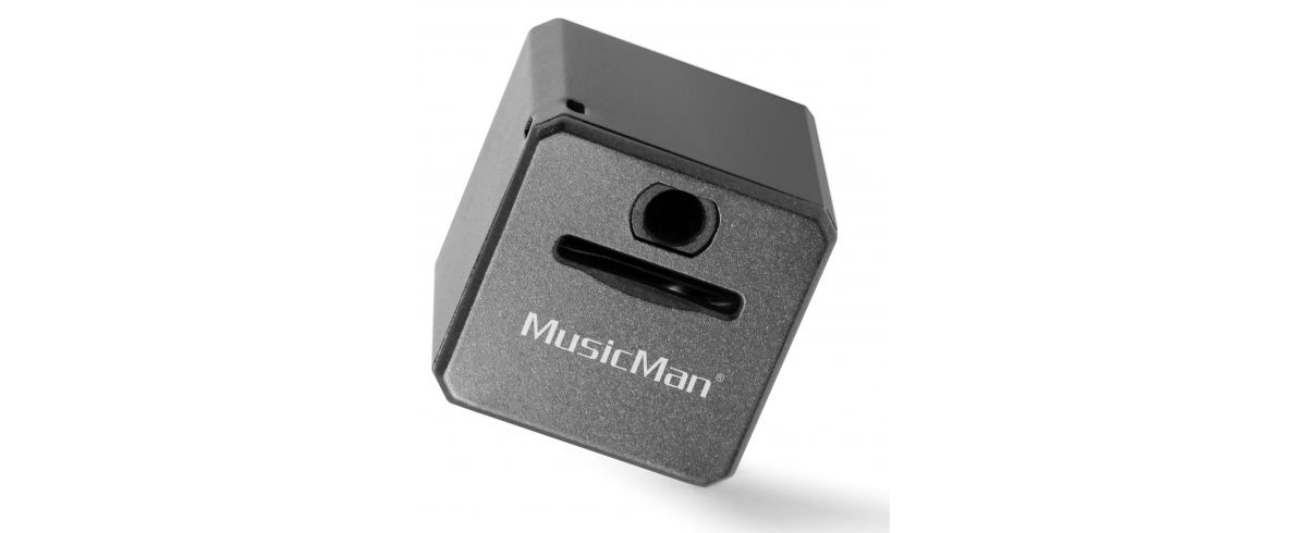 Vorschaubild von Technaxx MP3-Player »MusicMan Mini Style MP3 Player TX-52 schwarz«