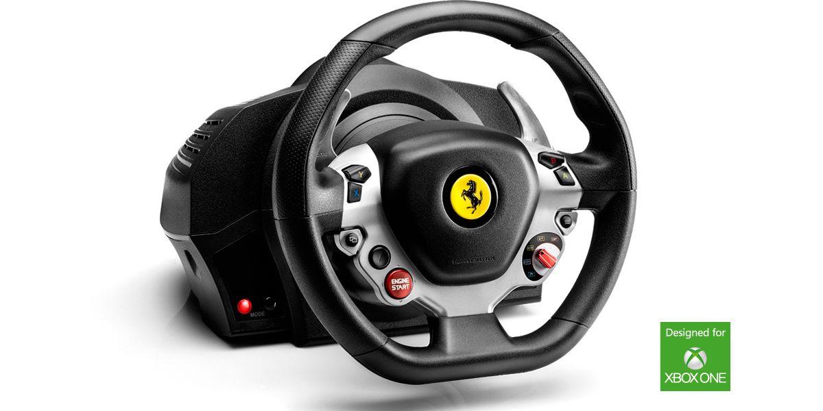 thrustmaster lenkrad tx racing wheel ferrari 458 italia edition  xbox one pc