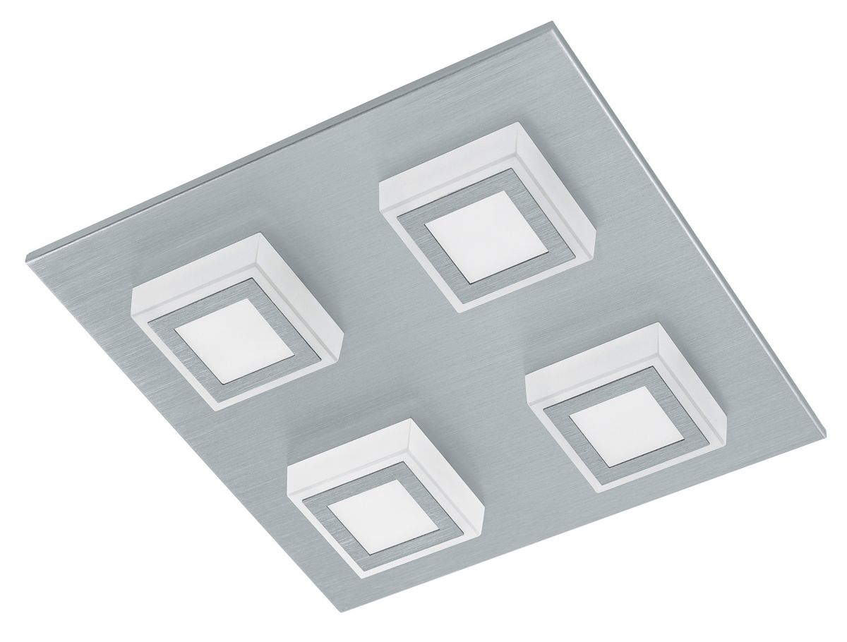 Eglo LED-Deckenleuchte, 4flg., »MASIANO«