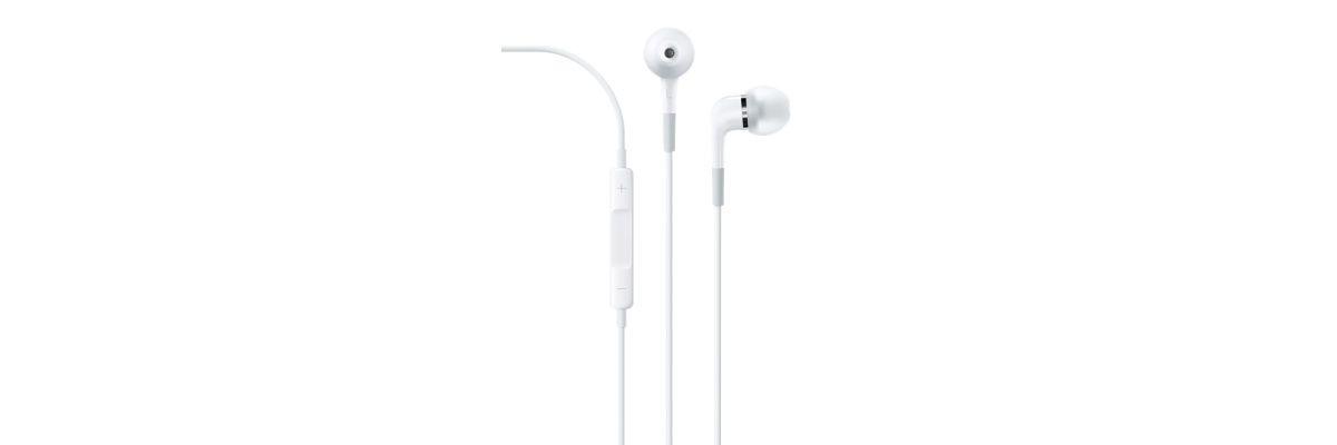 Apple Kopfhörer »In-Ear Headphones mit Fernbedi...