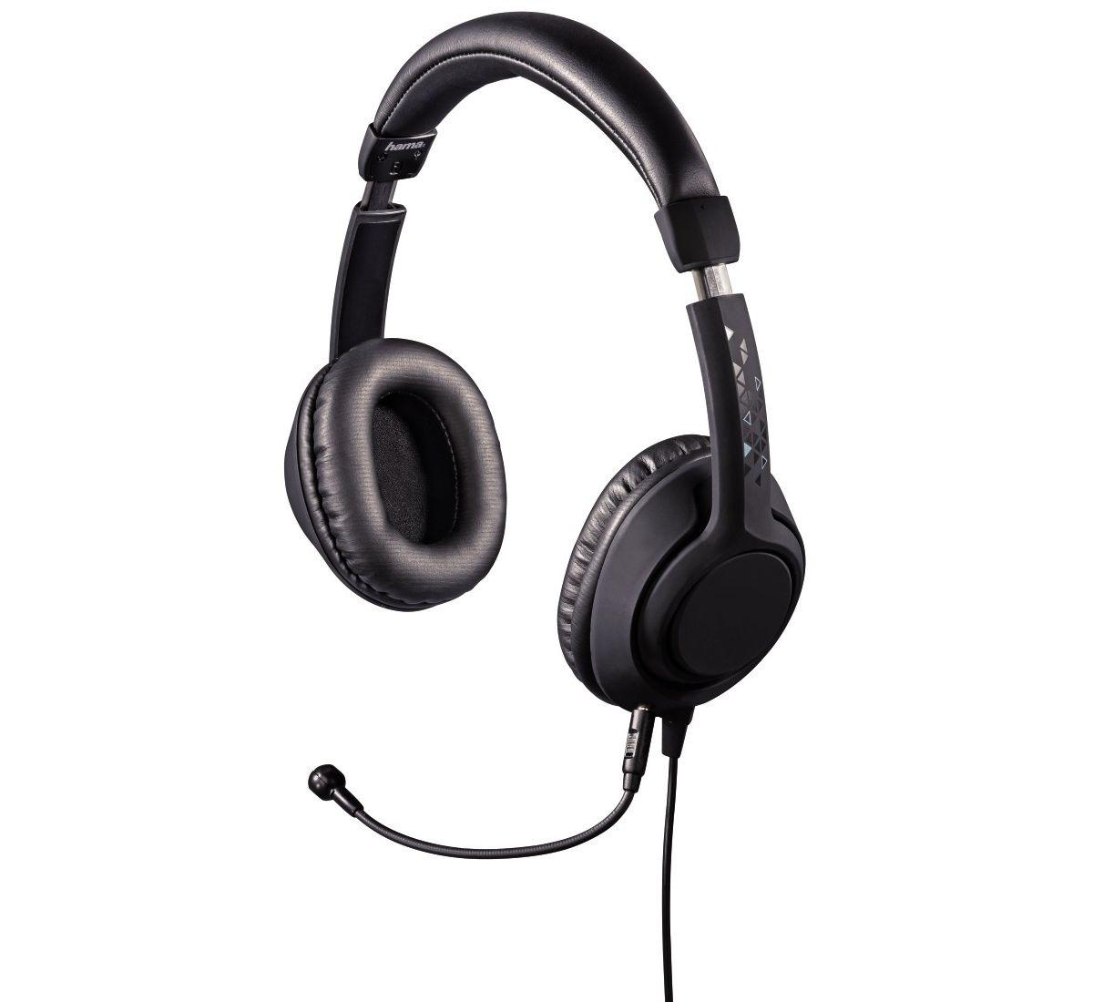 Hama Gaming Headset für PC, Notebook, Tablet, Handy, Konsole »Over-Ear Kopfhörer 1,8 m Kabel«