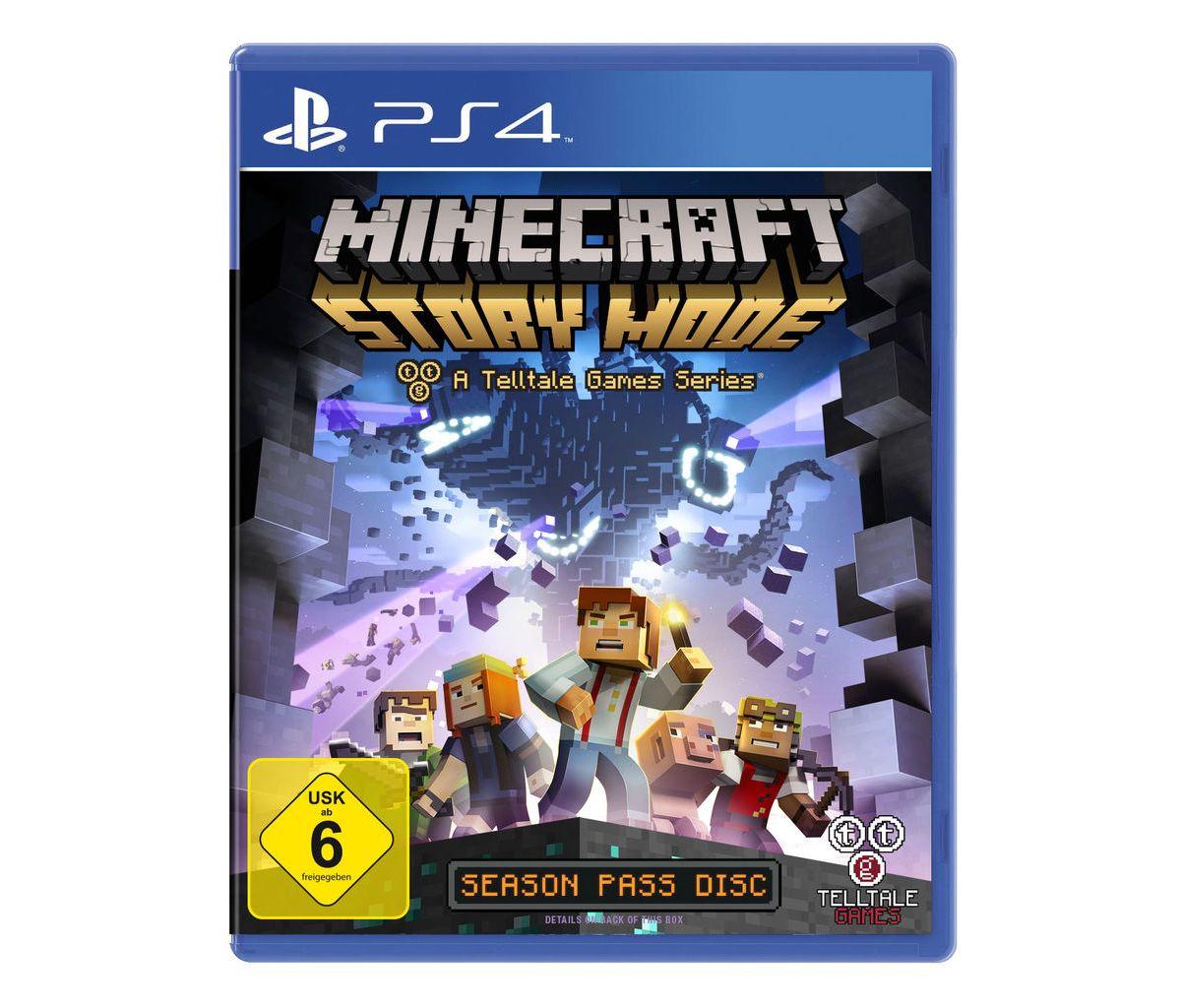 Telltale Games Playstation 4 - Spiel »Minecraft...