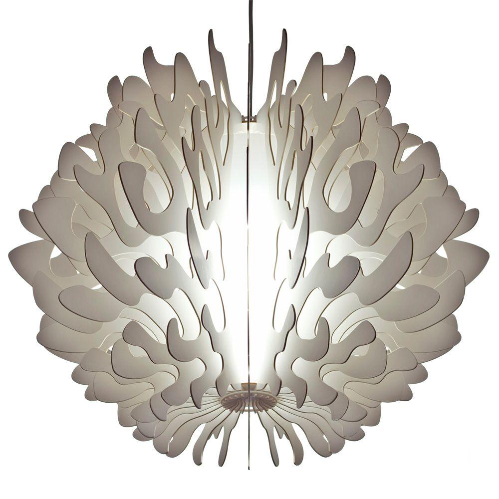 Him her pendelleuchte 1flg koralle schwab versand for Stehlampen designerlampen