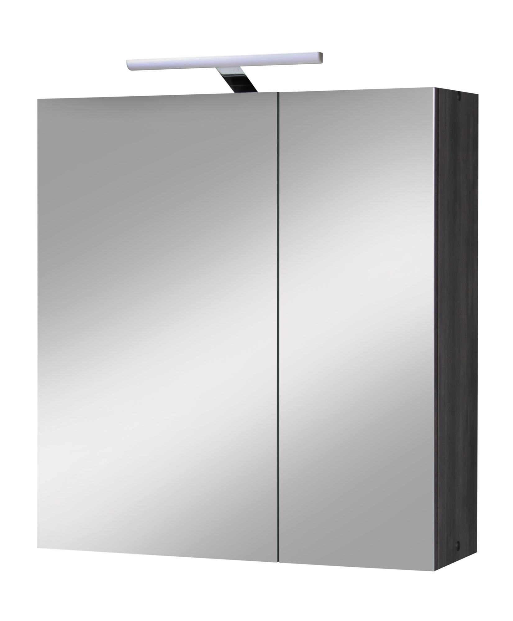 spiegelschrank tokio breite 65 cm mit beleuchtung schwab versand spiegelschr nke mit. Black Bedroom Furniture Sets. Home Design Ideas