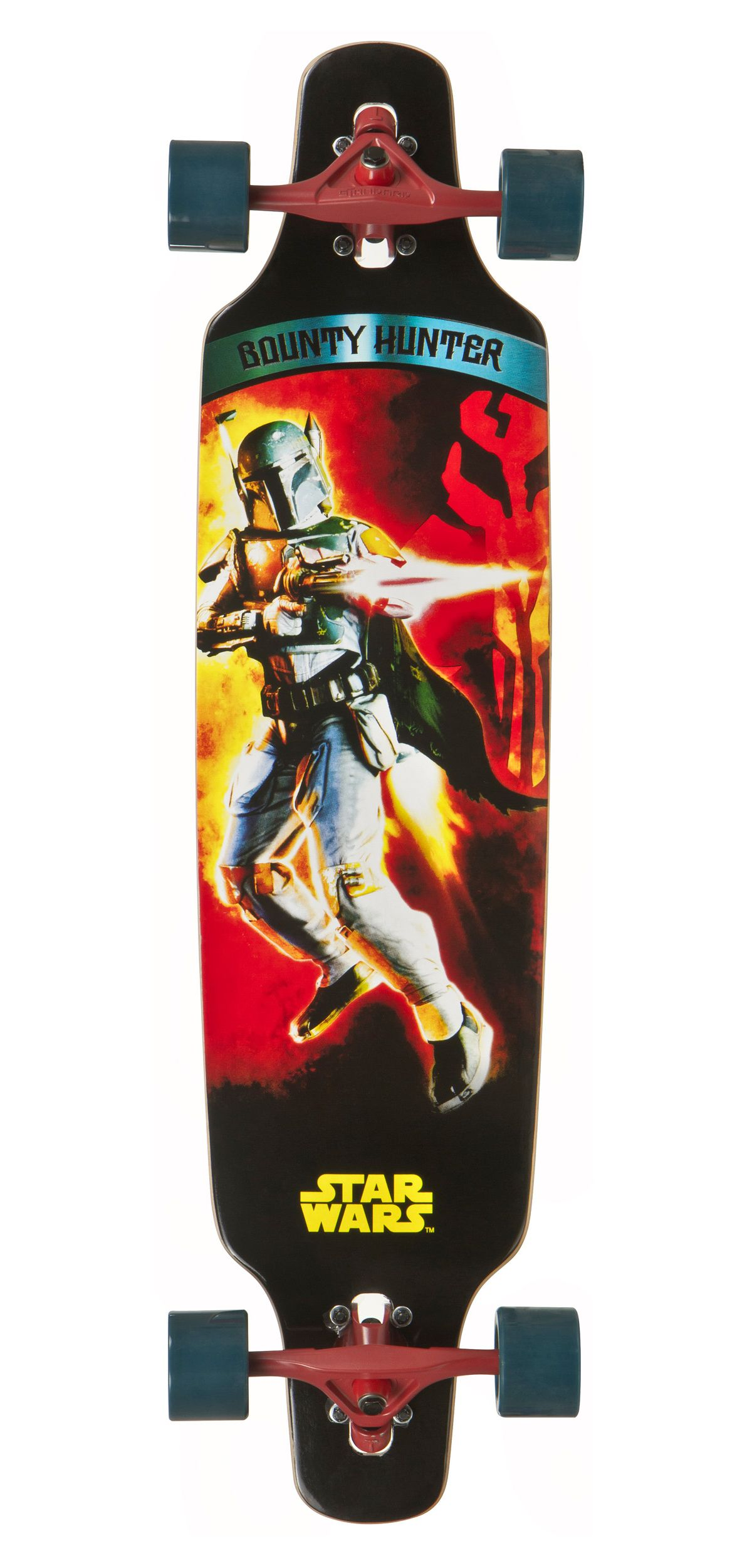 Star Wars Longboard, »Bounty Hunter«