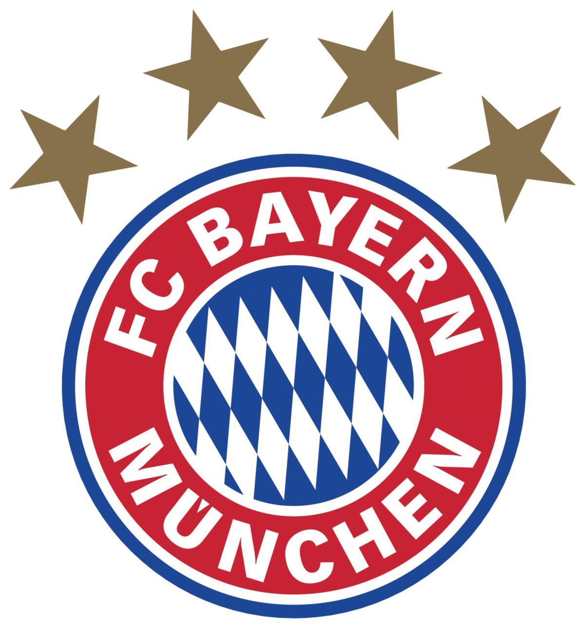 Wandtattoo »FC Bayern München Logo«, in 5 Größen