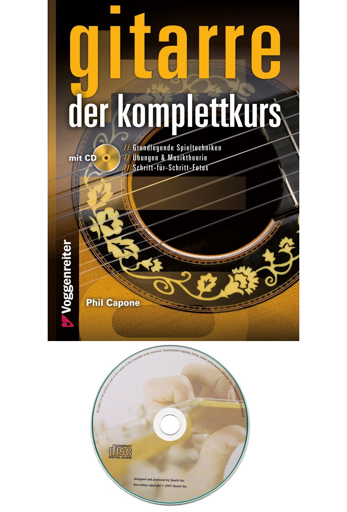 Voggenreiter Gitarrenbuch Gitarre Der Komplettkurs