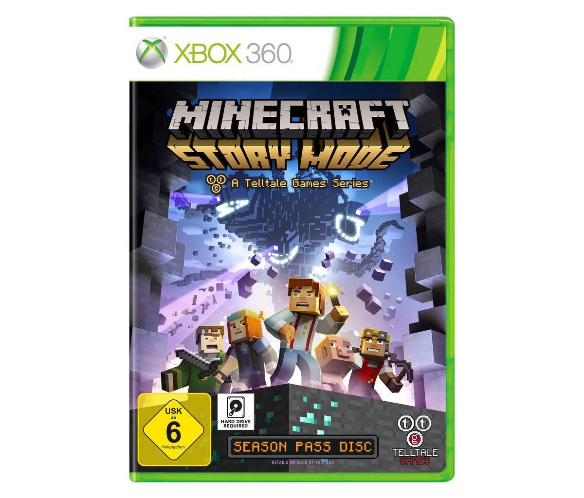 Telltale Games XBOX 360 - Spiel »Minecraft: Sto...