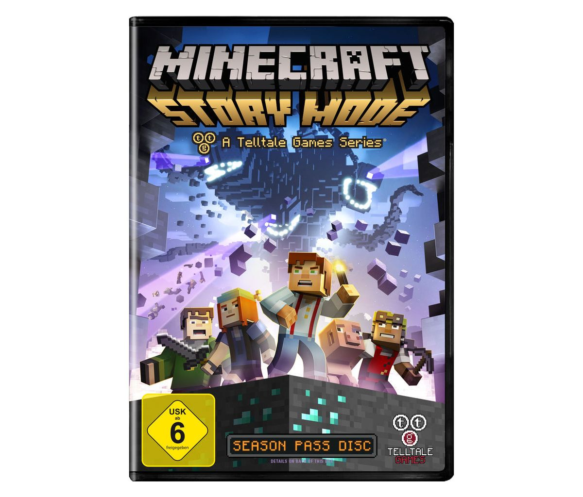 Telltale Games PC - Spiel »Minecraft: Story Mode«