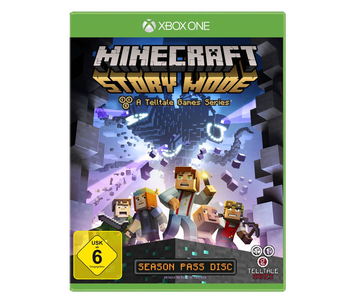 Telltale Games XBOX One - Spiel »Minecraft: Sto...
