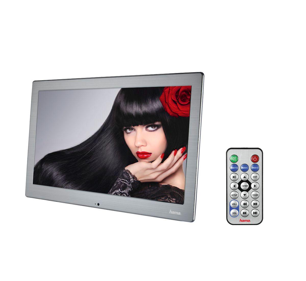 Hama Digitaler Bilderrahmen 133SLPFHD, 33,80 cm...