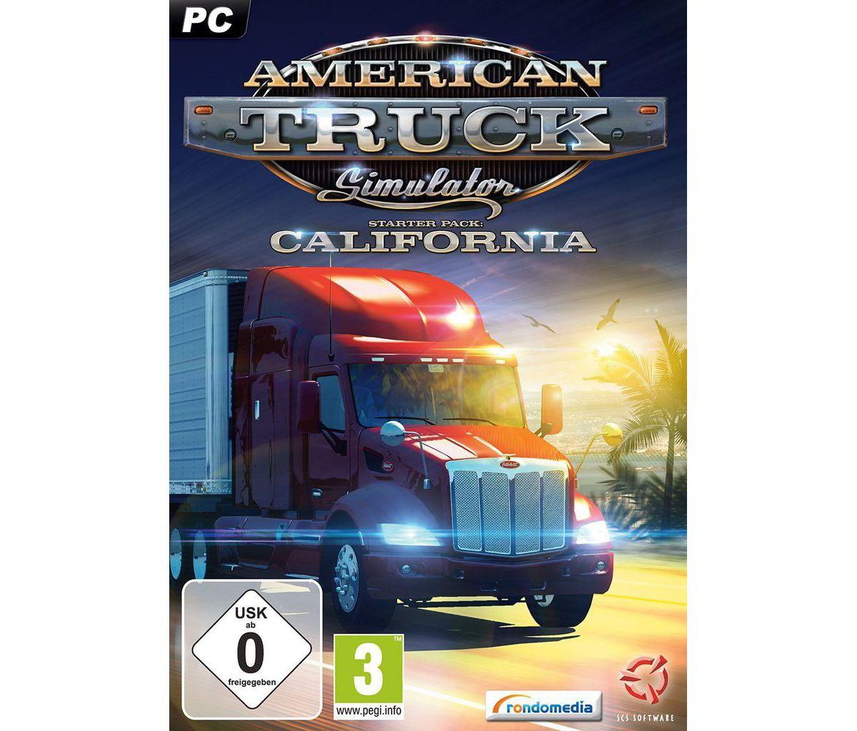 Rondomedia PC - Spiel »American Truck Simulator...