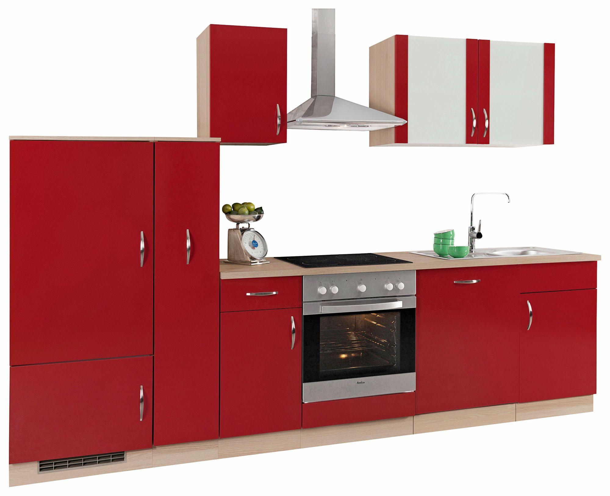 k chenzeile madrid ohne e ger te breite 300 cm schwab versand k chenunterschr nke. Black Bedroom Furniture Sets. Home Design Ideas