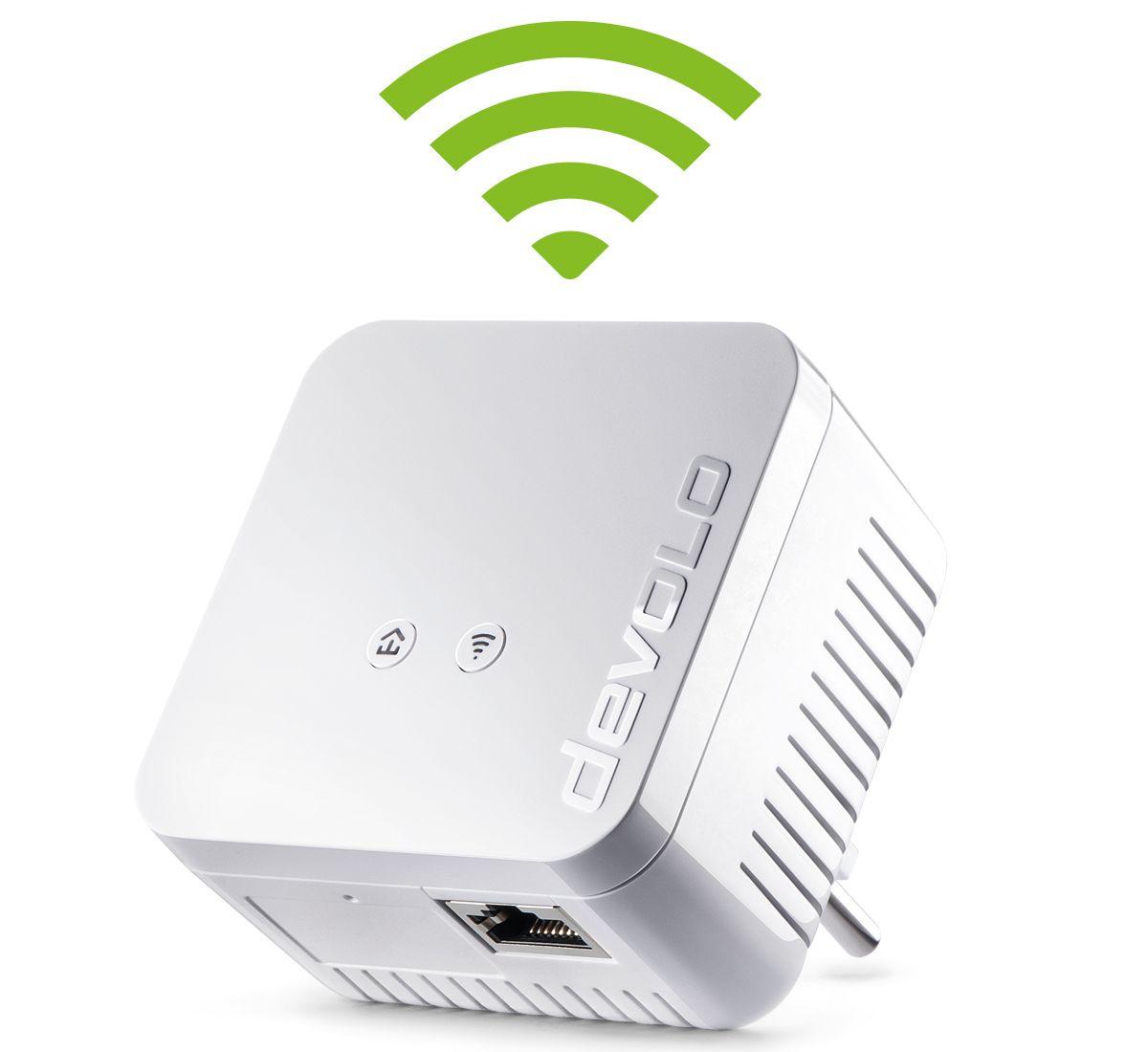 DEVOLO Powerline + WLAN »dLAN 550 WiFi (500Mbit, 1xLAN, Repeater, range+)« 6114e48d1b