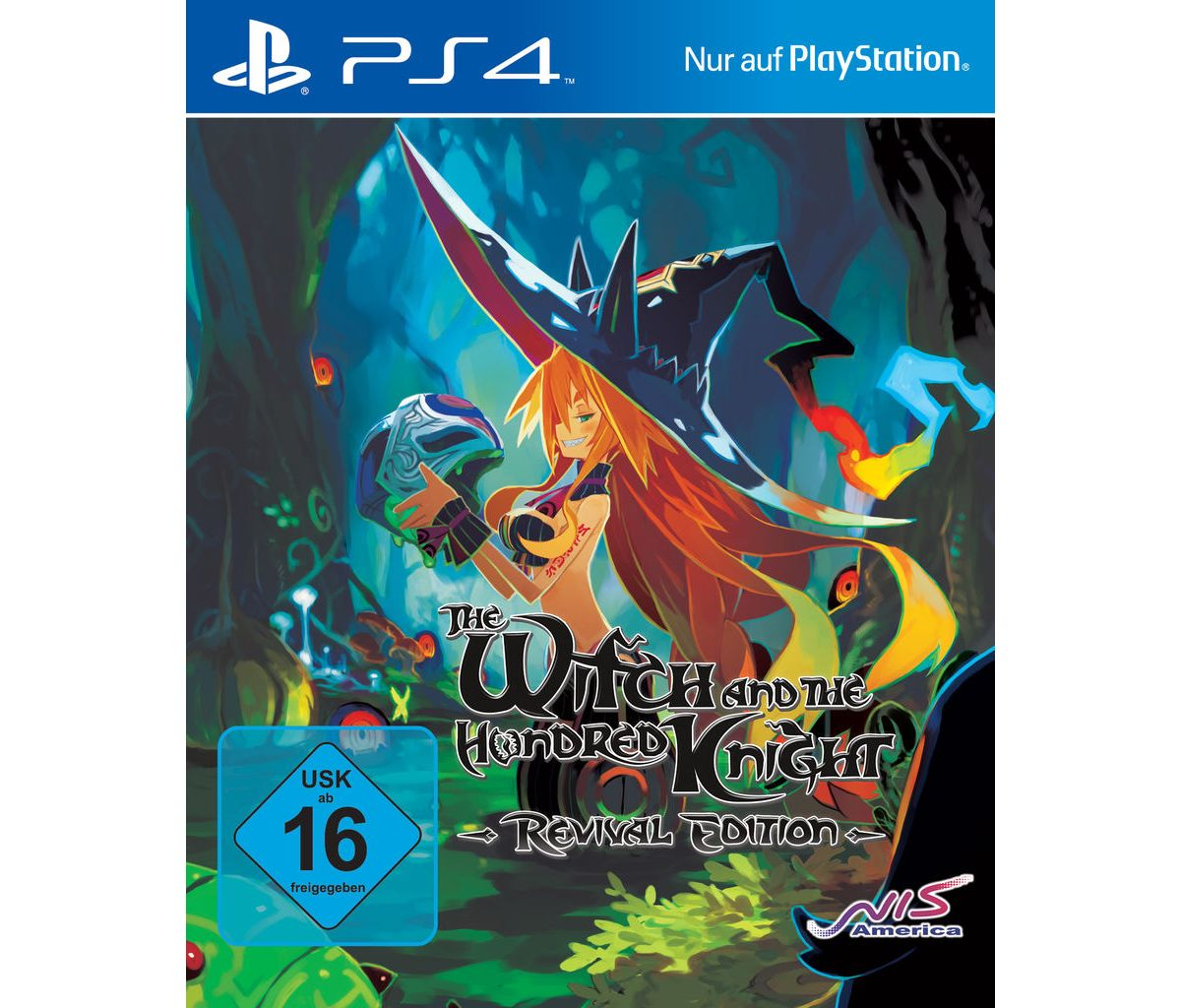 NIS Playstation 4 - Spiel »The Witch and the Hu...