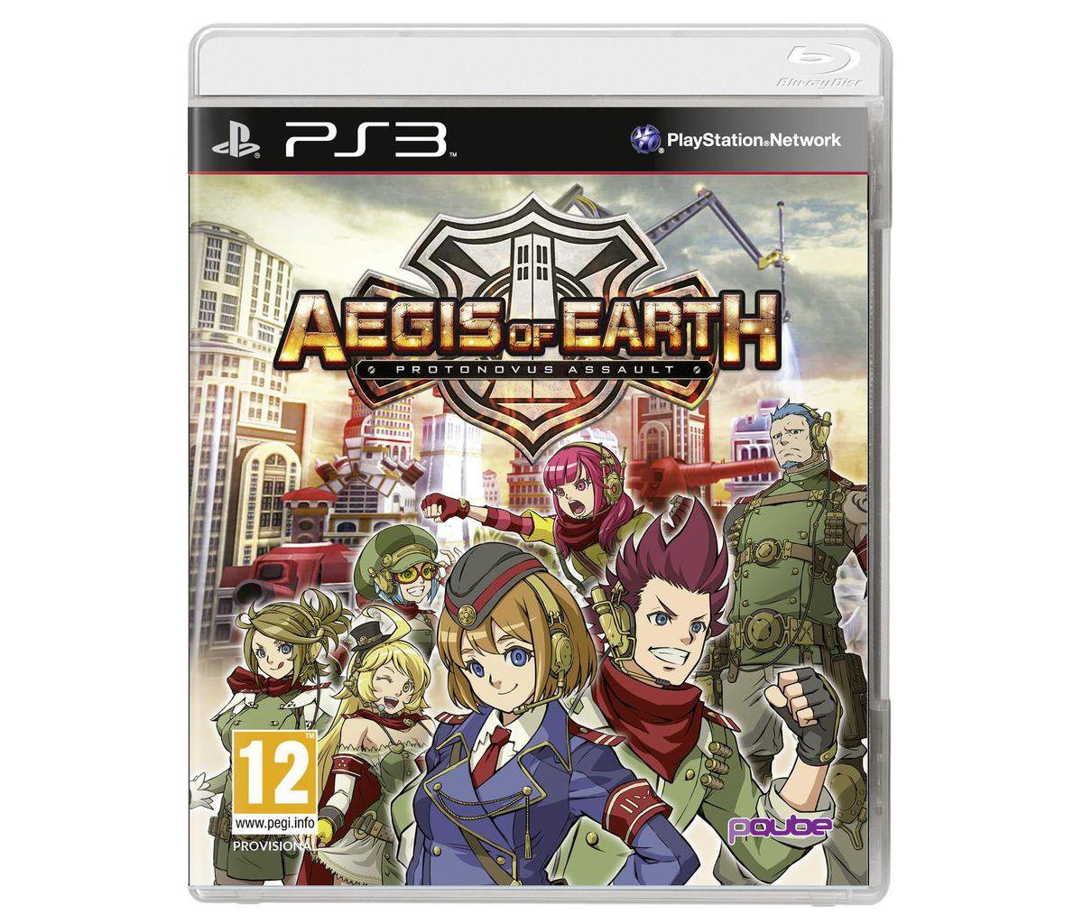 PQube Playstation 3 - Spiel »Aegis of Earth: Pr...