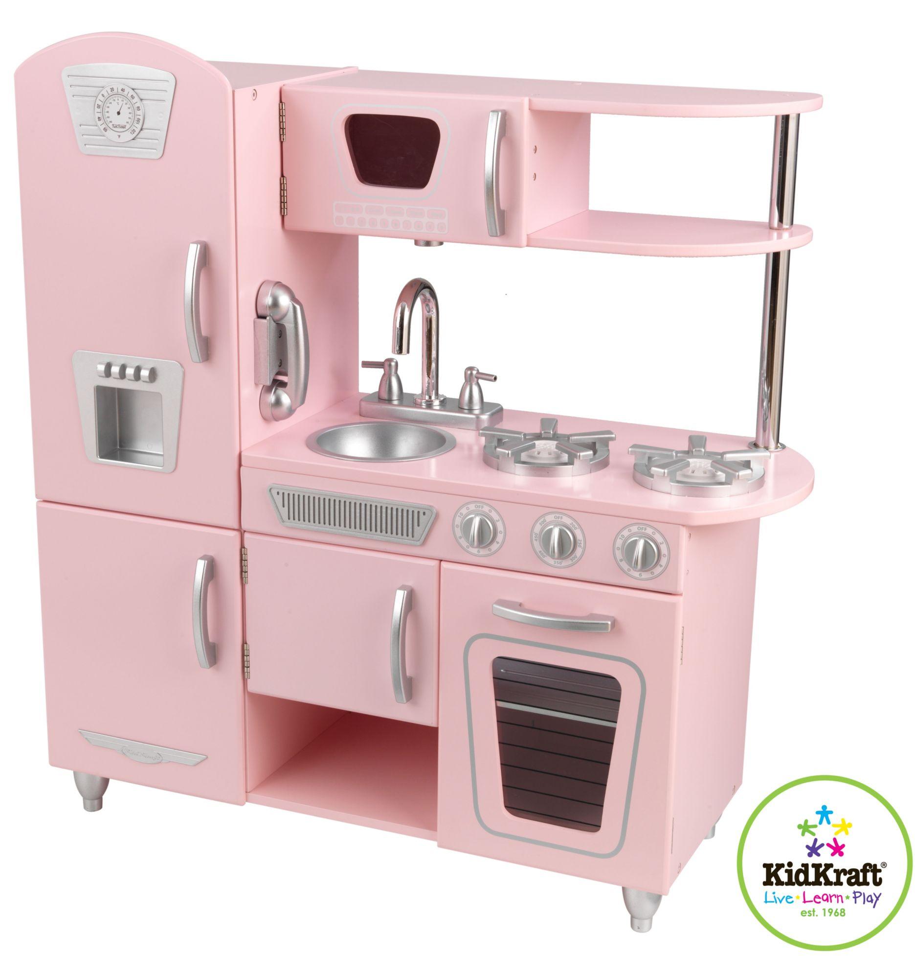 Kidkraft® Spielküche Aus Holz, »Retro Küche«