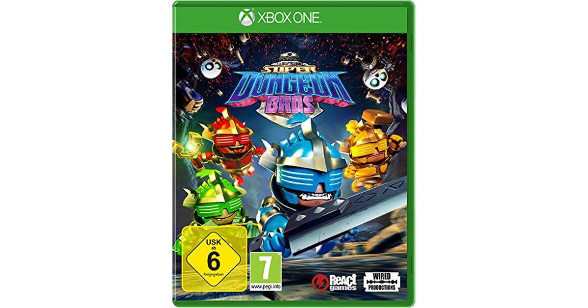 Nordic Games XBOX One - Spiel »Super Dungeon Bros«