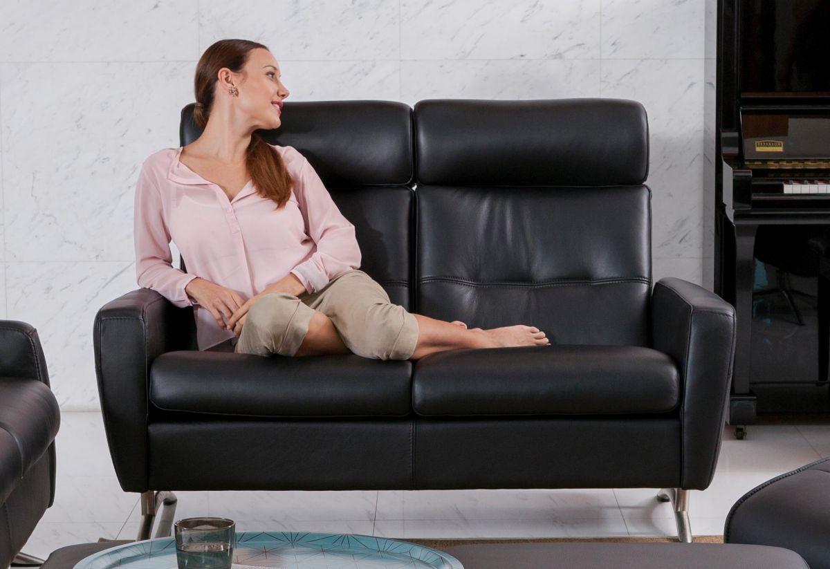 50 Sparen 2 Sitzer Sofa Stella C100hb Nur Cherry M Bel: lederpflegemittel sofa