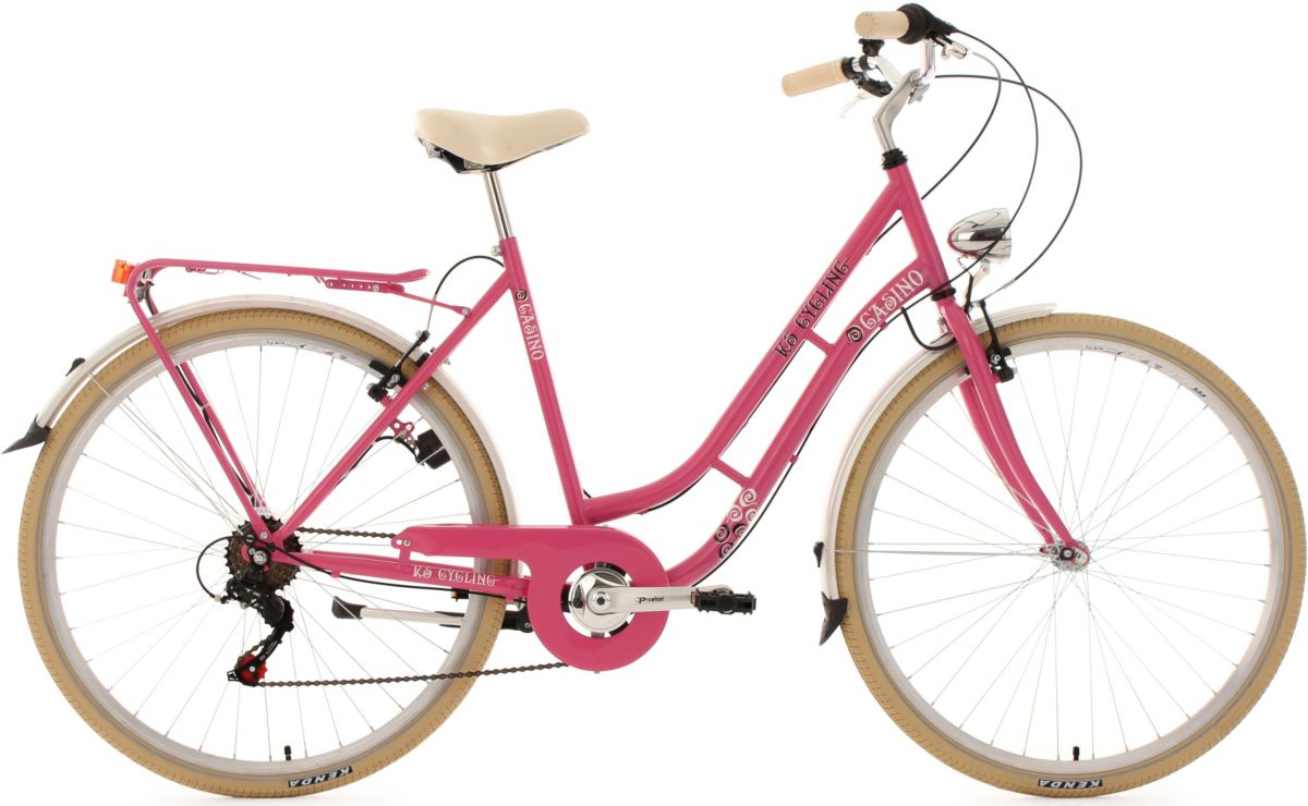 KS Cycling Damen-Cityrad, 28 Zoll, pink, 6 Gang...