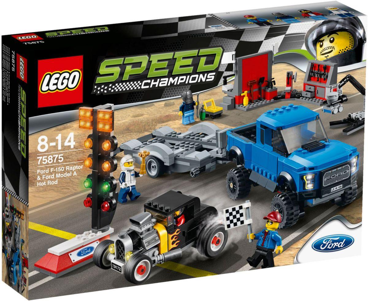 LEGO®, Ford F-150 Raptor & Ford Model A Hot Rod...