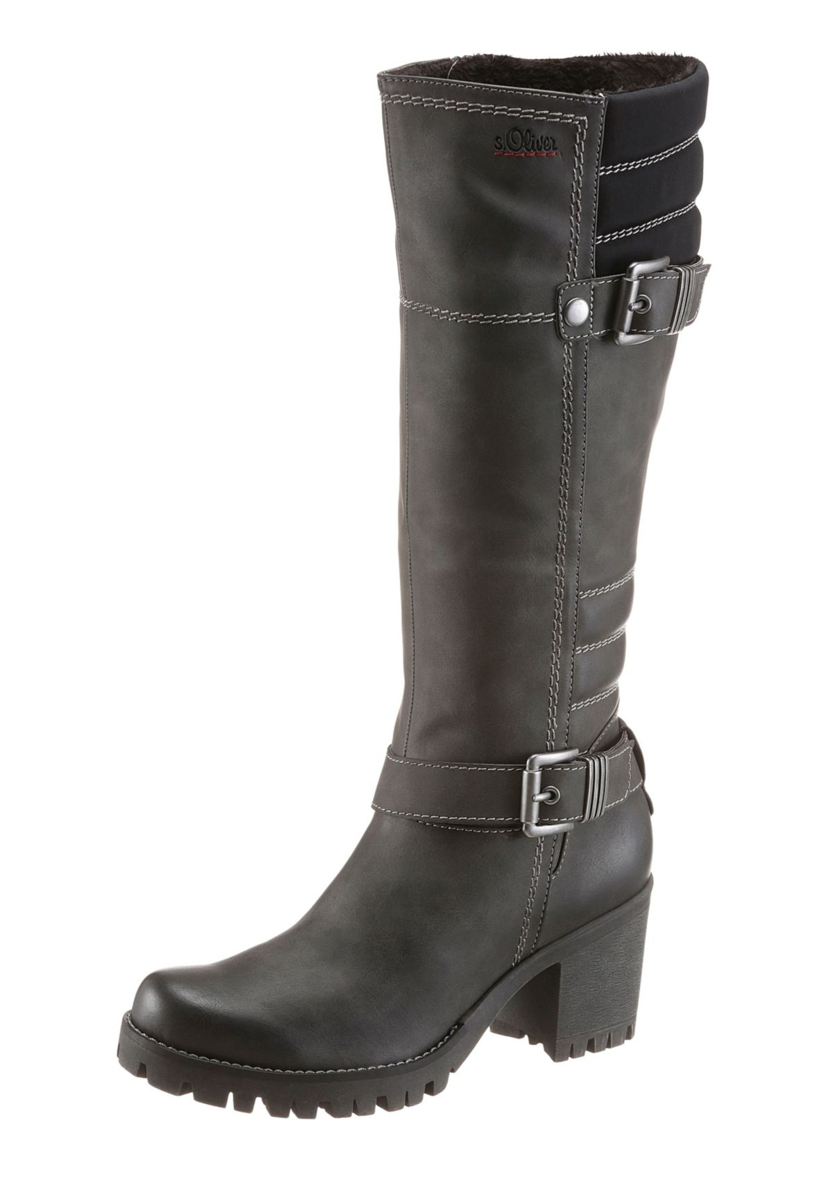 s.Oliver RED LABEL Plateaustiefel
