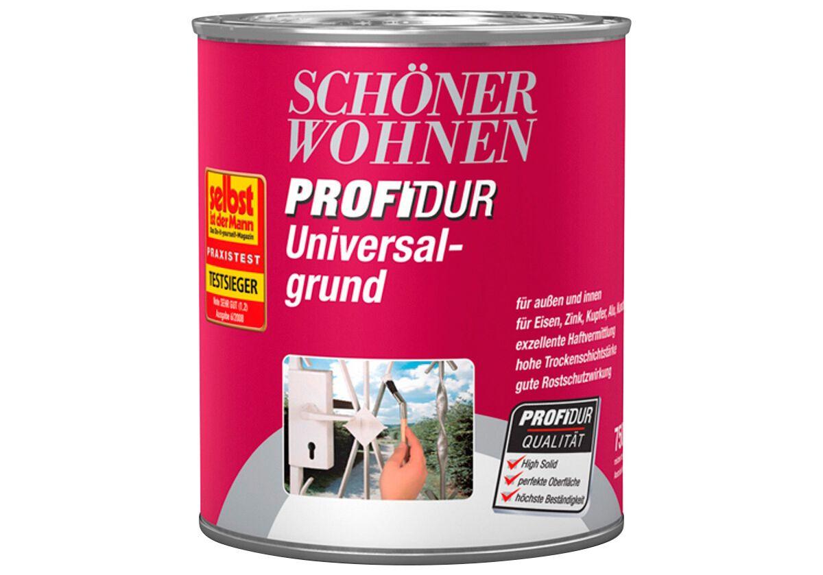 Schöner Wohnen Farbe Universalgrund »matt grau, 750 ml«