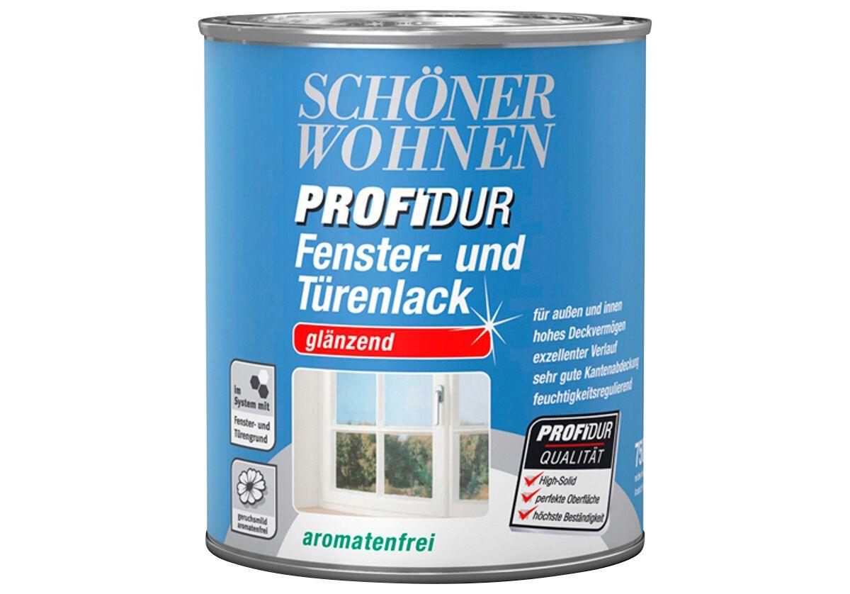 SCHÖNER WOHNEN FARBE Fenster- und Türenlack »Fenster- und Türenlack 750 ml, reinwei߫