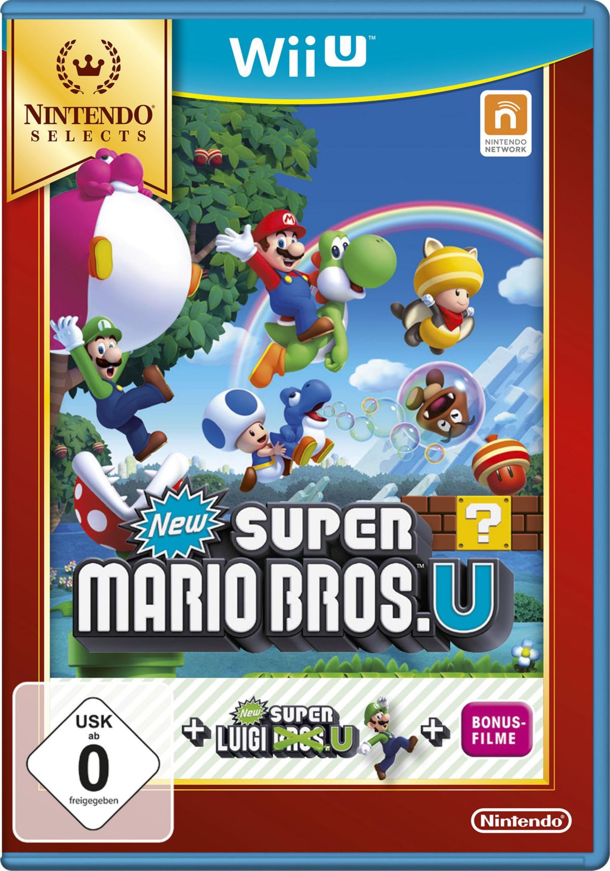 New Super Mario Bros. U + New Super Luigi Ninte...