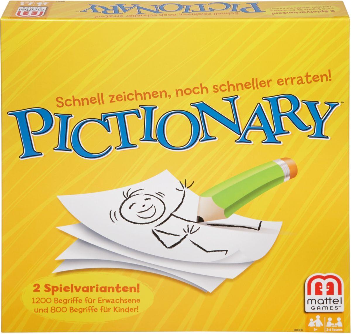 Mattel Gesellschaftsspiel, »Pictionary«