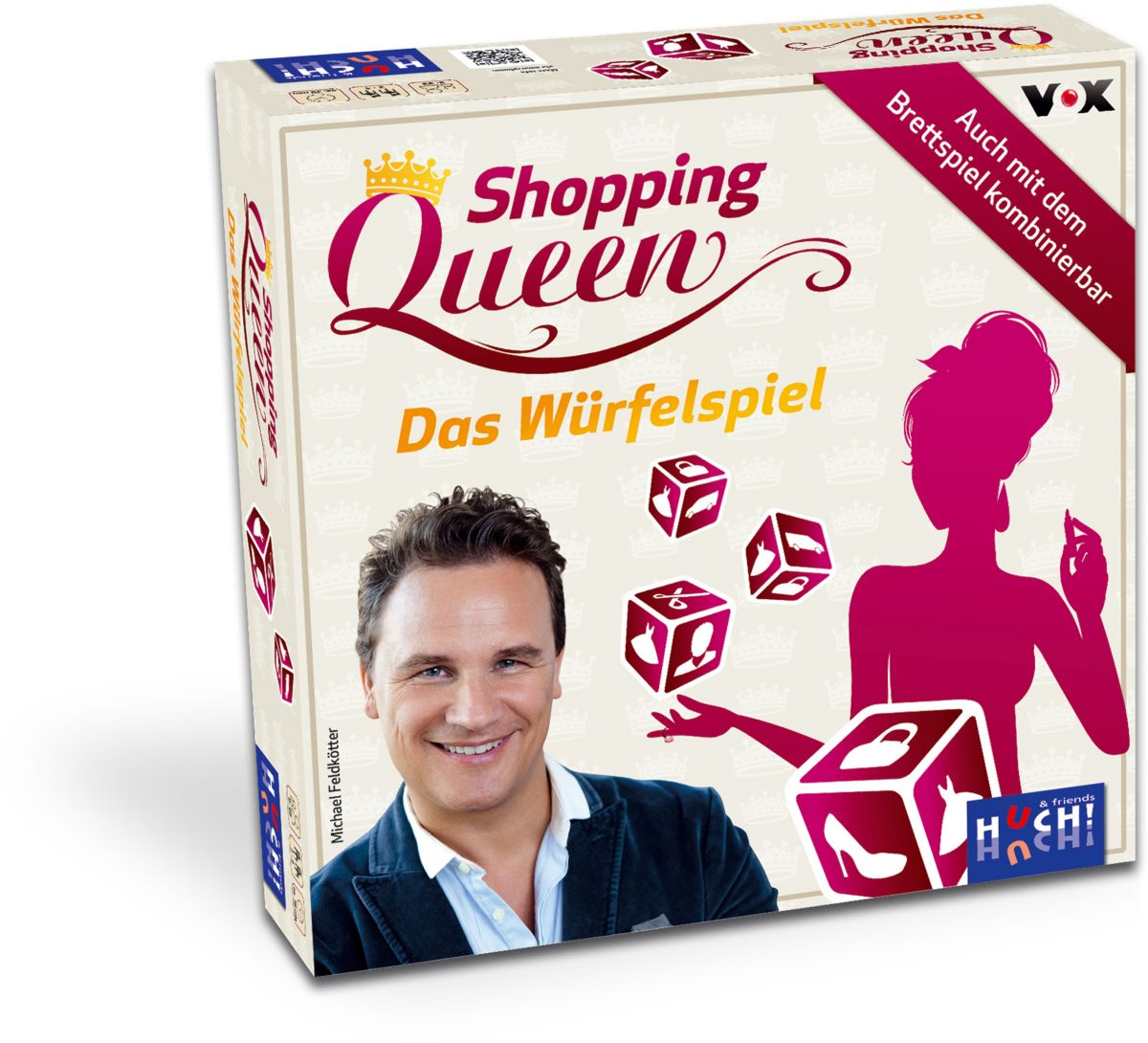 Huch! & friends Würfelspiel, »Shopping Queen Wü...
