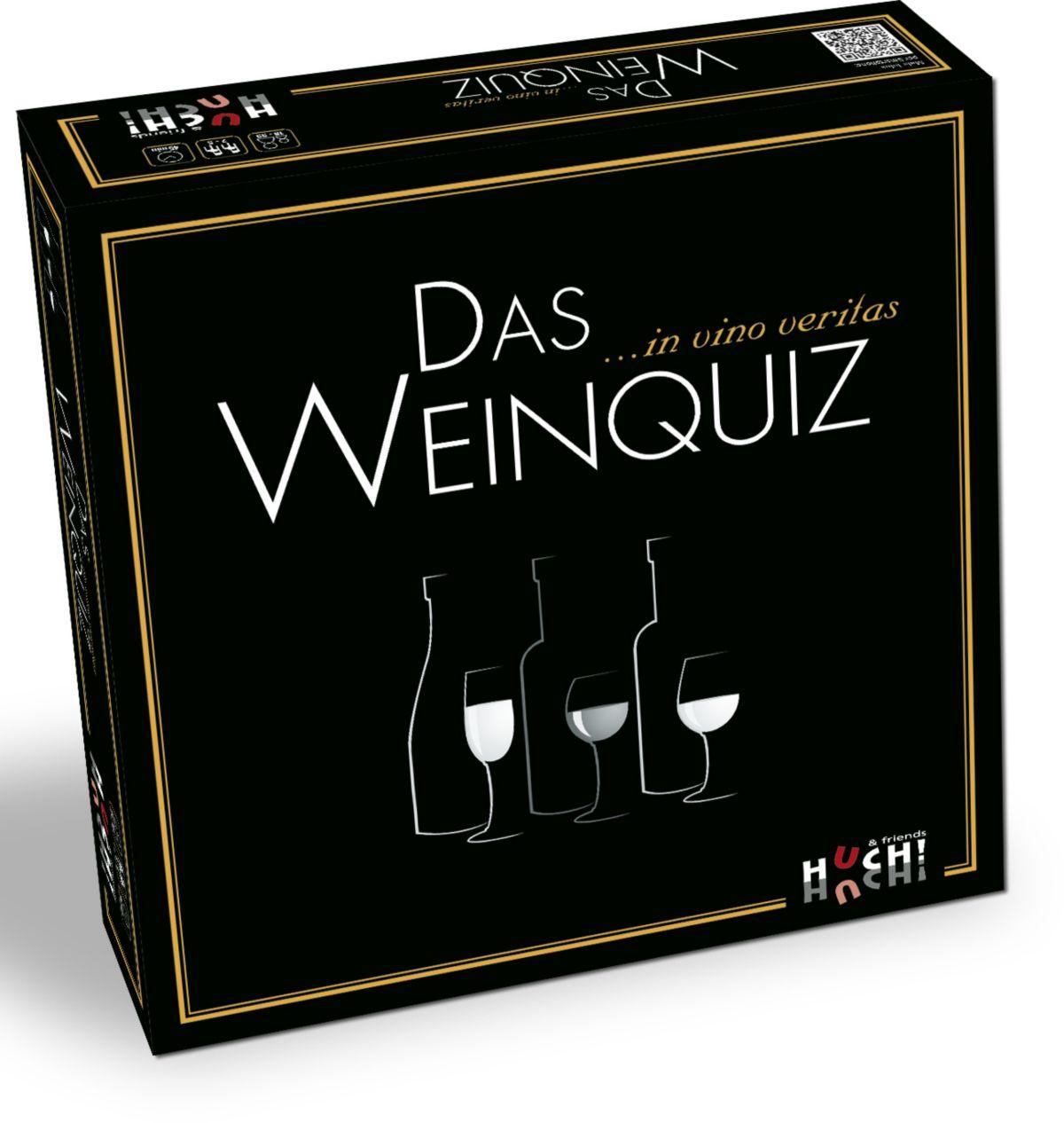 Huch! & friends Partyspiel, »Das Weinquiz«