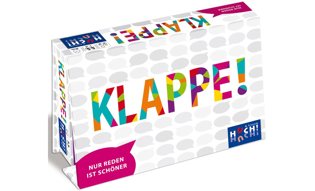 Huch! & friends Gesellschaftsspiel, »Klappe«