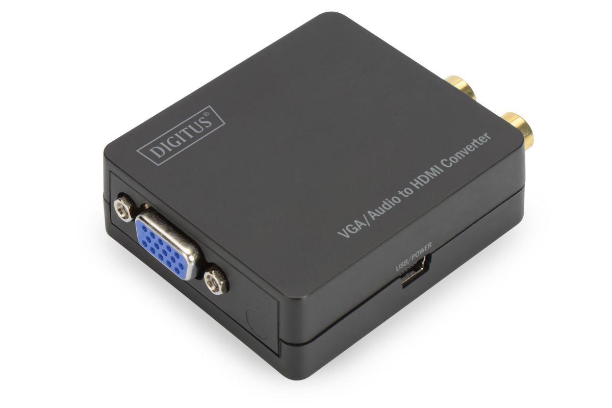 Vorschaubild von Digitus Digitale Konverter »VGA zu HDMI Konverter inkl. Audio«