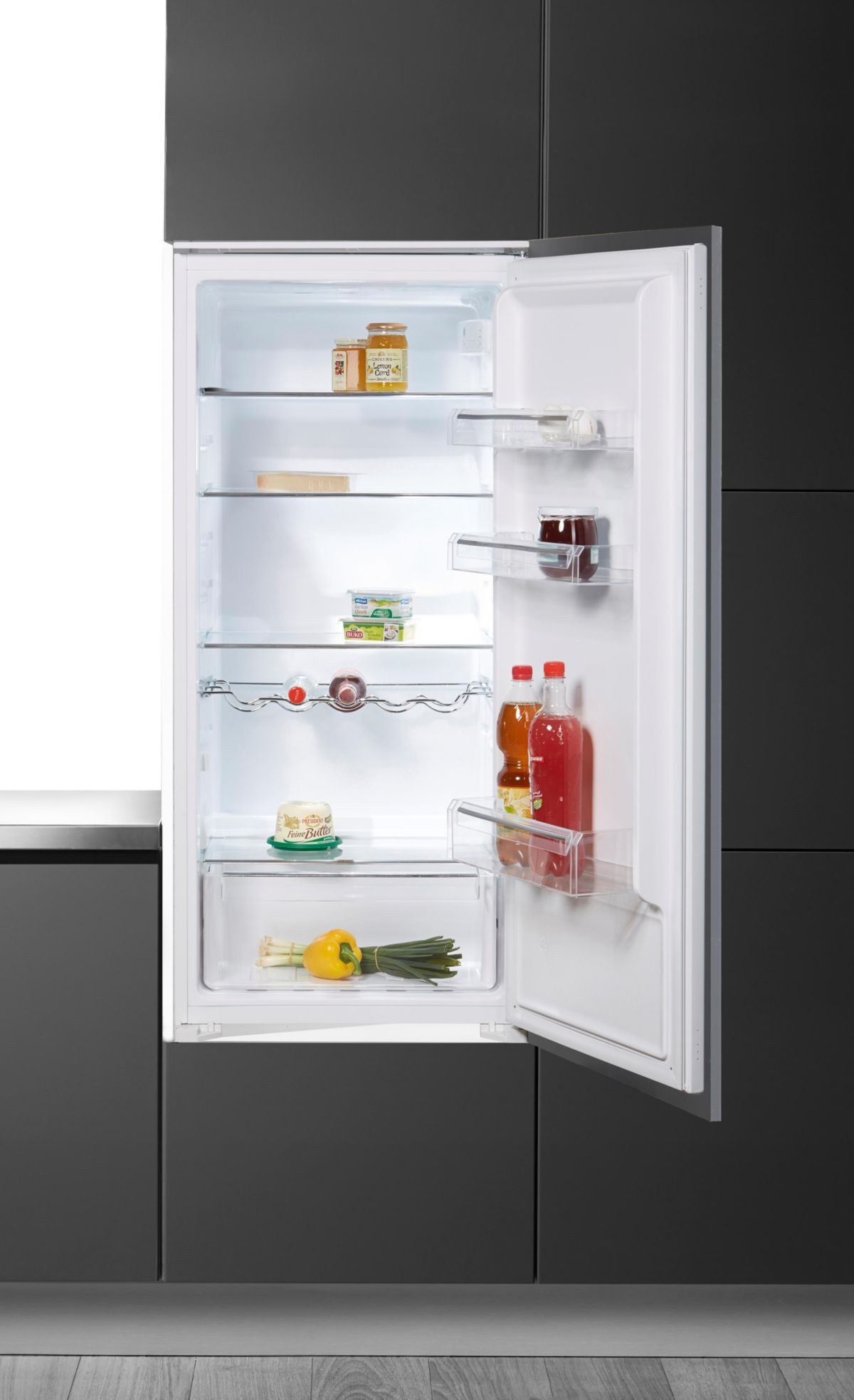 Hanseatic Einbau-Kühlschrank HEKS12254A2, Energ...