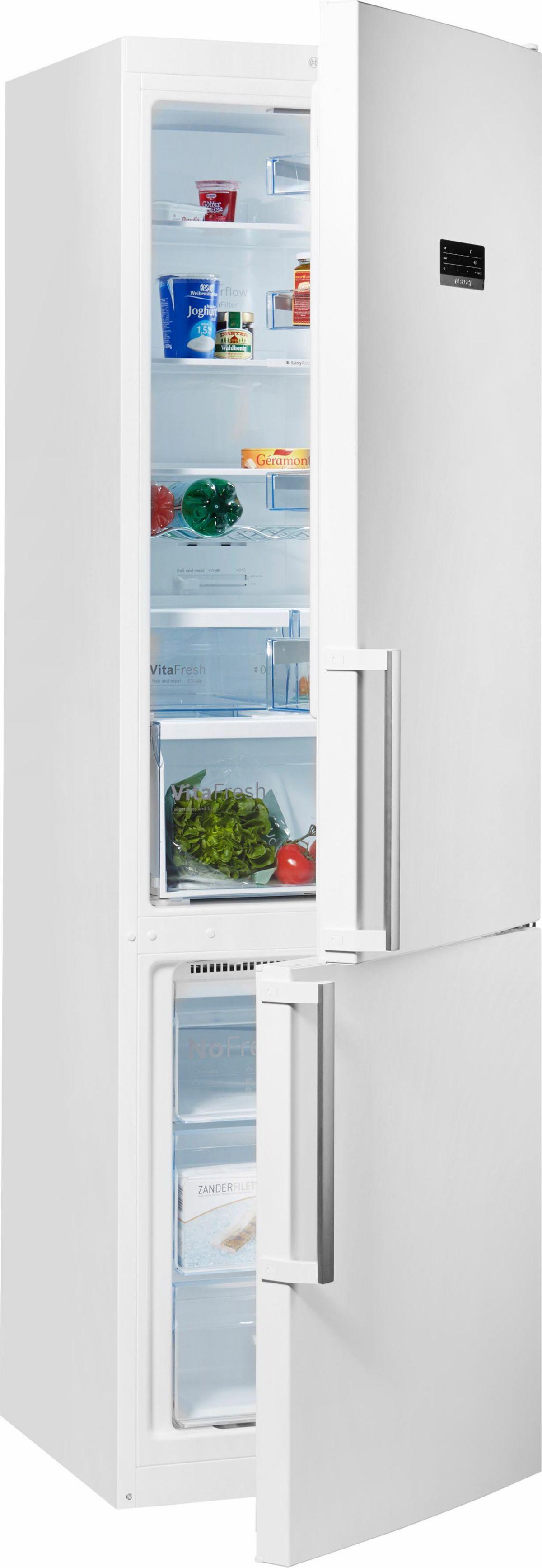 Bosch Stand-Kühl-Gefrierkombination KGN39XW37, Energieklasse A++, 203 cm hoch,  VitaFresh Preisvergleich