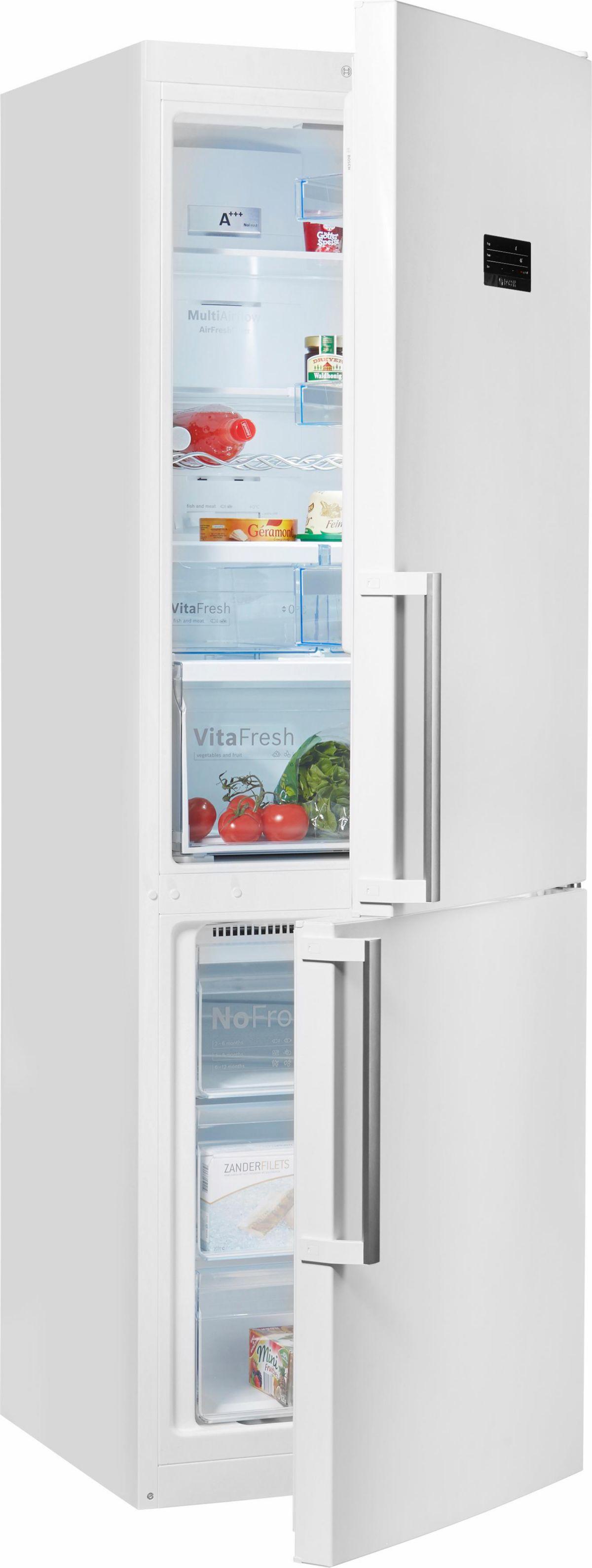 Bosch Stand-Kühl-Gefrierkombination KGN36XW45, A+++, 186 cm, No Frost Preisvergleich